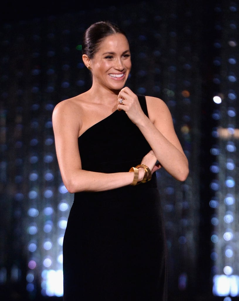 Meghan Markle's Stunning Gold Jewels Actually Had a Very Special Story Behind Them