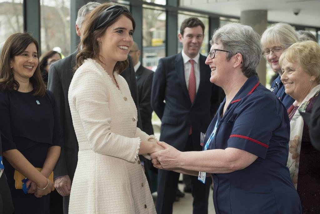Princess Eugenie Jack Brooksbank Visit Hospital March 2019