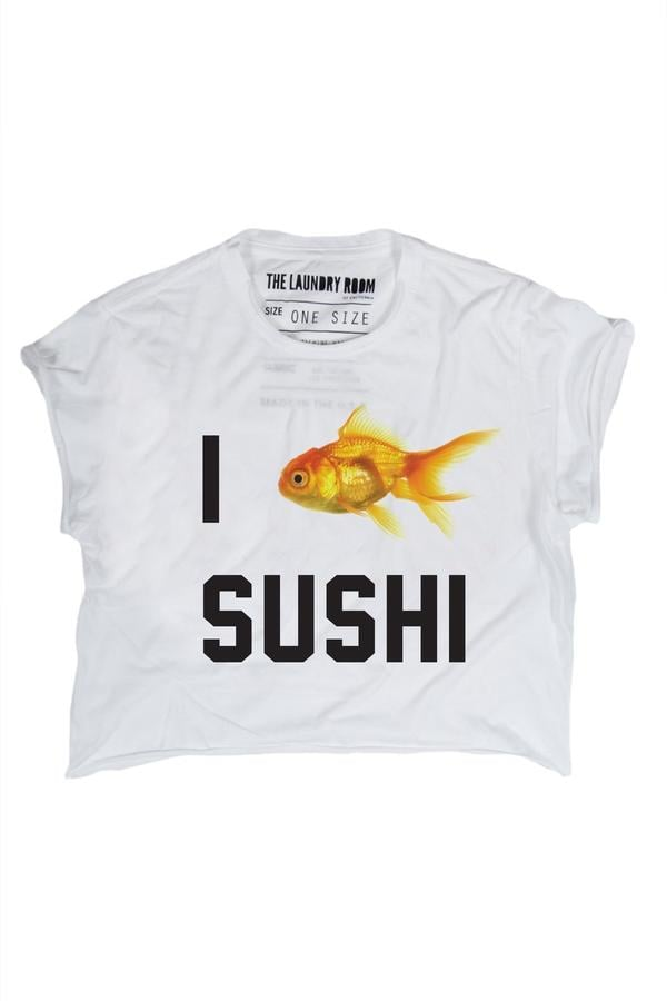 The Laundry Room I Love Sushi T-Shirt