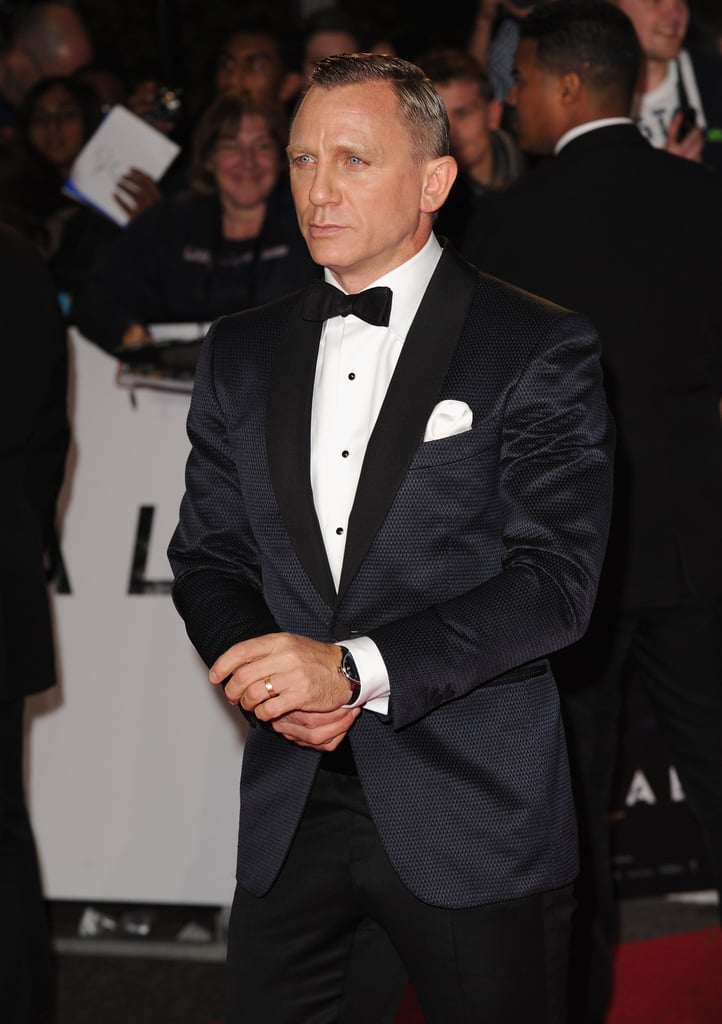 Daniel Craig was in attendance for Skyfall's London premiere.