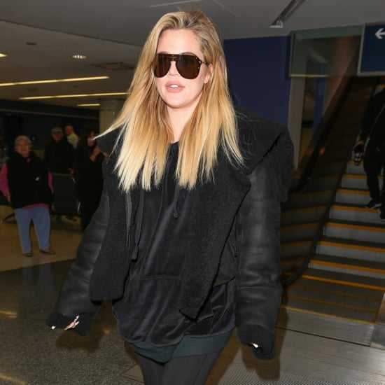 Khloe Kardashian at LAX Airport December 2017