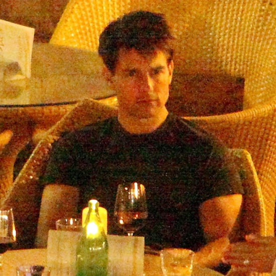 Tom Cruise Drinking in Hvar, Croatia | Pictures