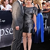 Peter Facinelli and Jennie Garth attended the June 2010 LA premiere of The Twilight Saga: Eclipse.