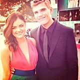 Lucy Hale hit the red carpet at the MTV Movie Awards. Source: Instagram user lucyhale89