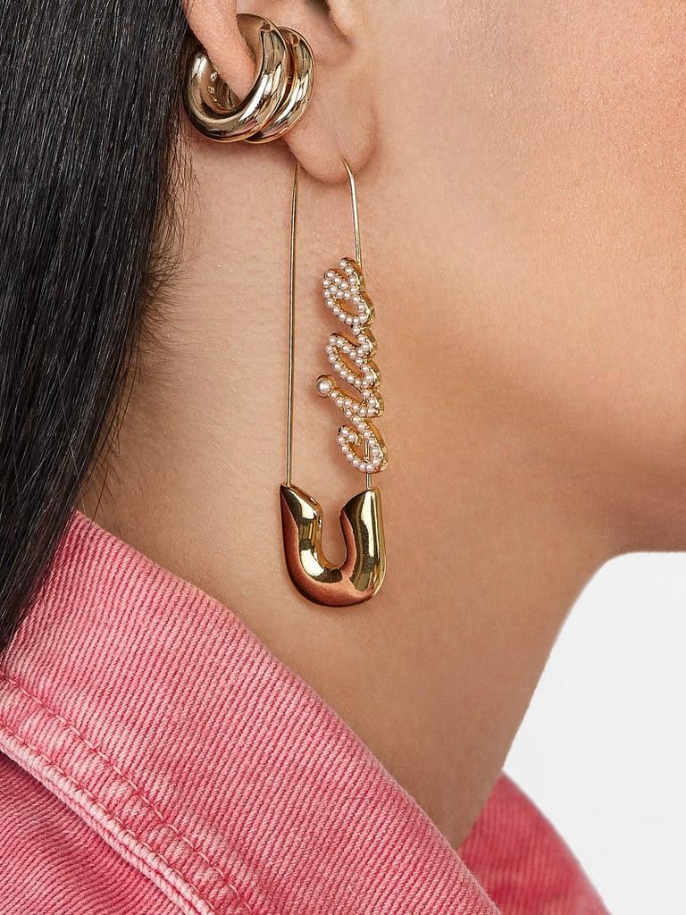BaubleBar x Montserrat New York Safety Pin Earrings