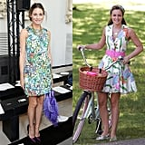 Amp Up a Floral Dress With Bright Accessories