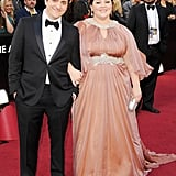 Melissa McCarthy and Ben Falcone at the 2012 Oscars.