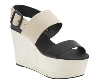 """These colorblocked BCBGeneration soles pack potential to pair with any number of springtime ensembles!""