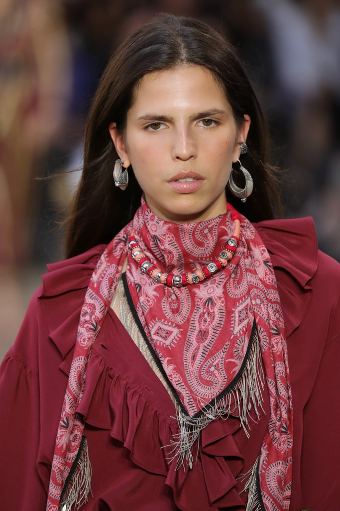 A Scarf On The Etro Runway At Milan Fashion Week The Best