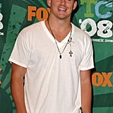 Channing Tatum smiled at the August 2008 Teen Choice Awards in LA.
