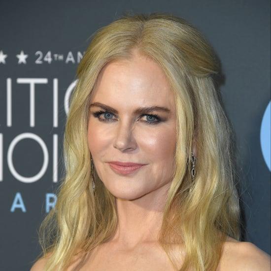 Nicole Kidman Beauty Look at 2019 Critics' Choice Awards