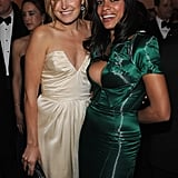 Rosario Dawson and Malin Akerman got together for a photo.