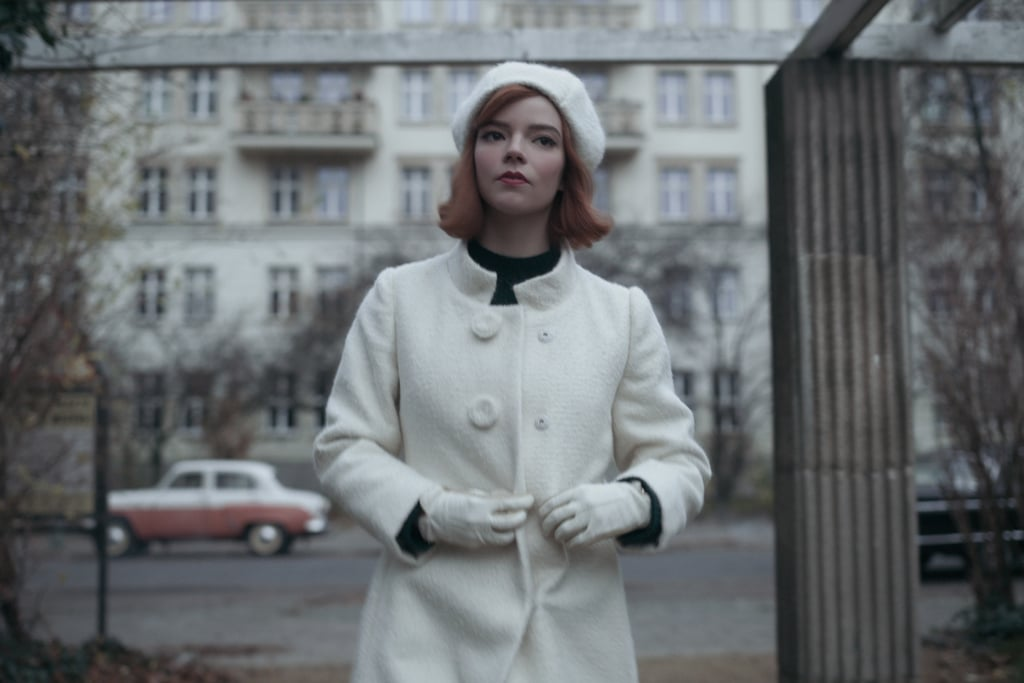 Outerwear: Matching Wool Overcoat, Beret Hat, and Gloves