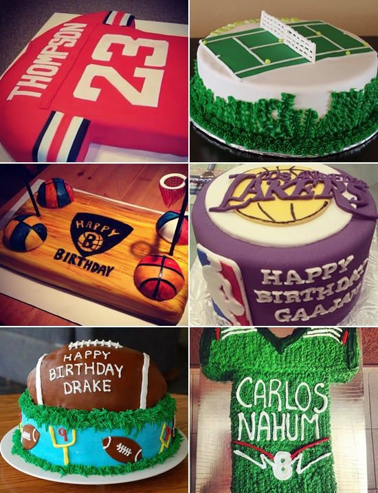 SportsThemed Birthday Cakes POPSUGAR Moms