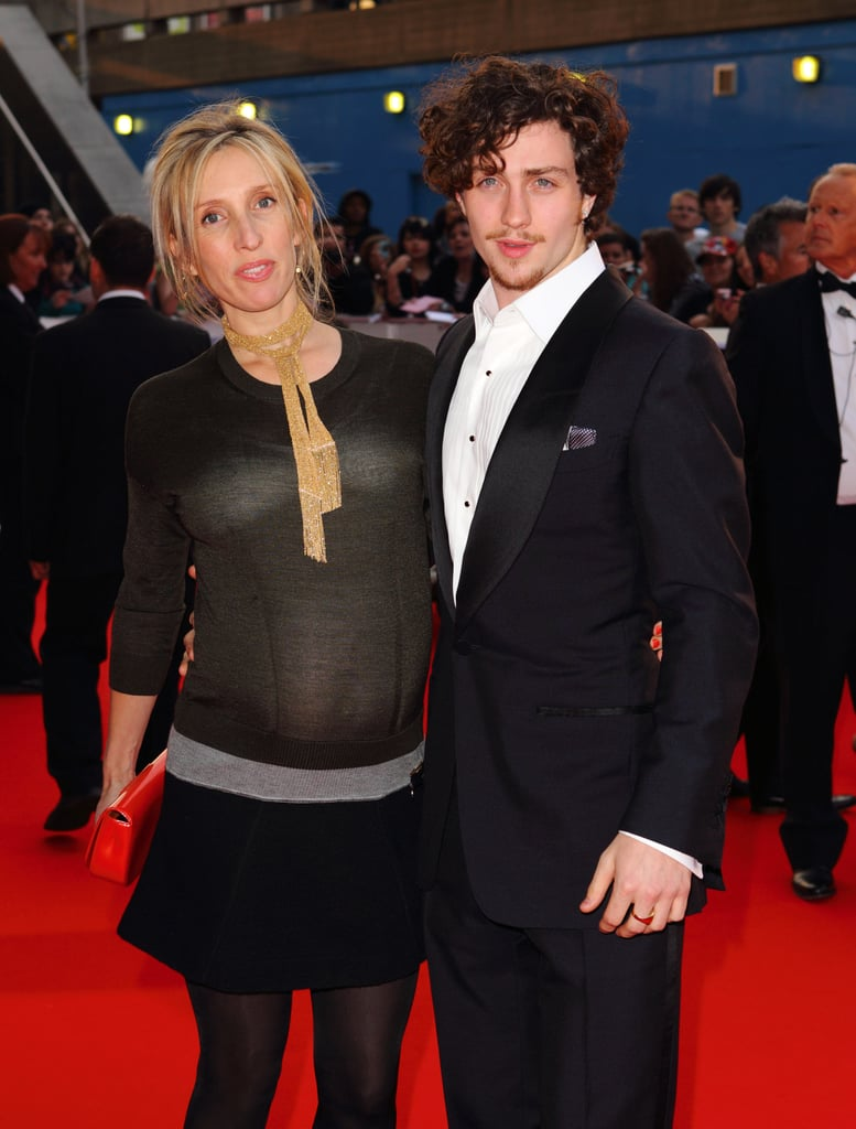 Pictures of Sam Taylor-Wood and Aaron Johnson at the National Movie Awards 2010