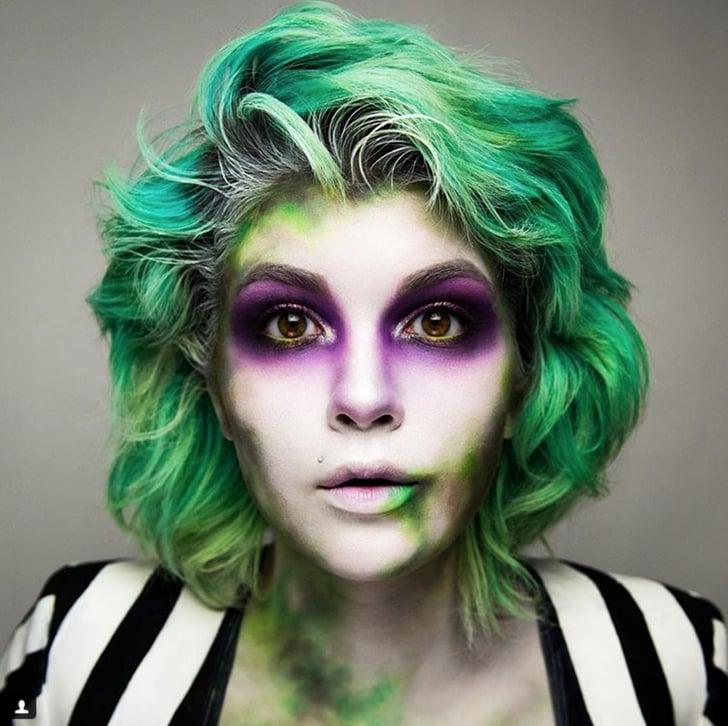 Beetlejuice Halloween Makeup Ideas Popsugar Beauty