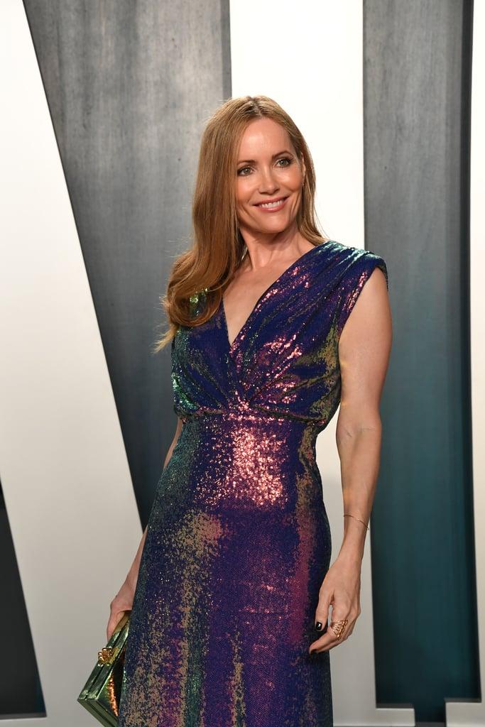 Leslie Mann at the Vanity Fair Oscars Afterparty 2020
