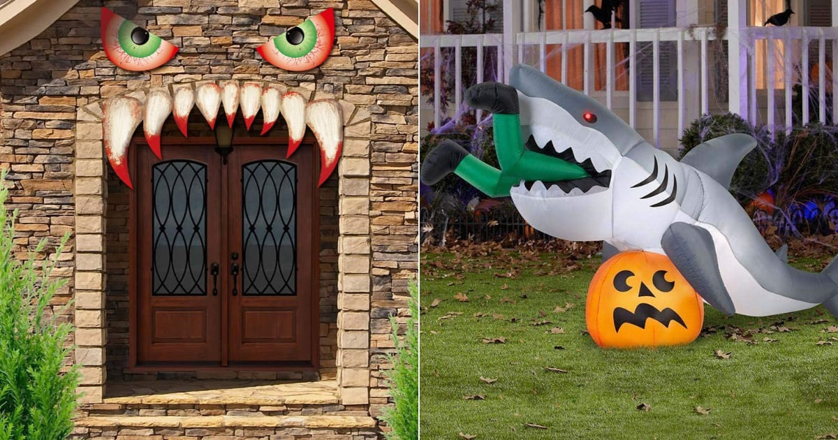14 Outdoor Halloween Decorations on Amazon So Wild, They'll Shock Your Neighbors
