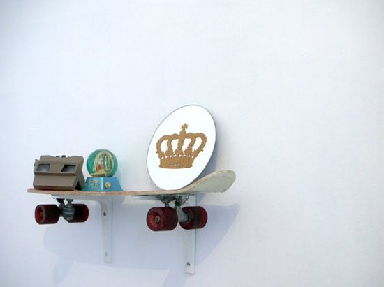 Simple Style: Skateboard Shelf