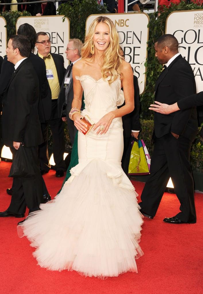 Elle Macpherson at the Golden Globes.