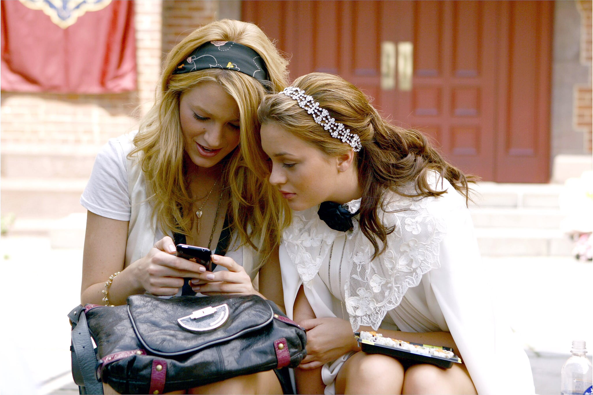 GOSSIP GIRL, from left: Blake Lively, Leighton Meester, 'The Ex-Files', (Season 2, ep. 204, aired Sept. 22, 2008), 2007-. photo: Giovanni Rufino /  The CW / Courtesy Everett Collection