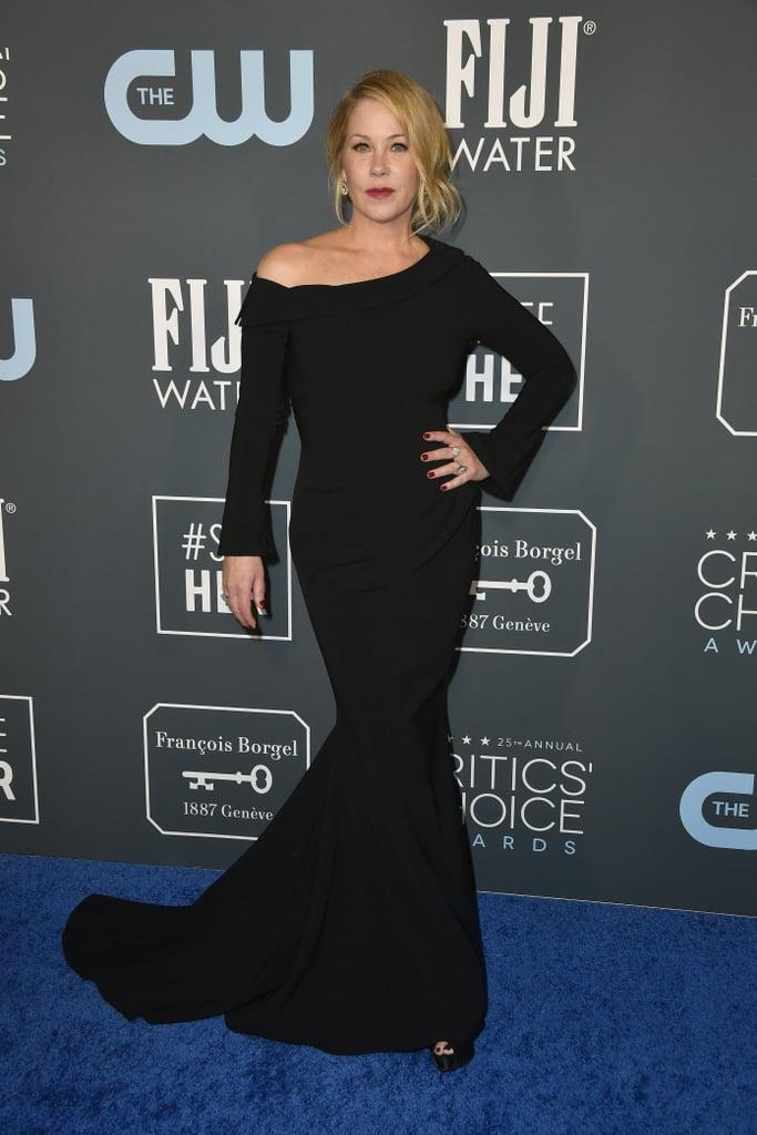 Christina Applegate at the 2020 Critics' Choice Awards