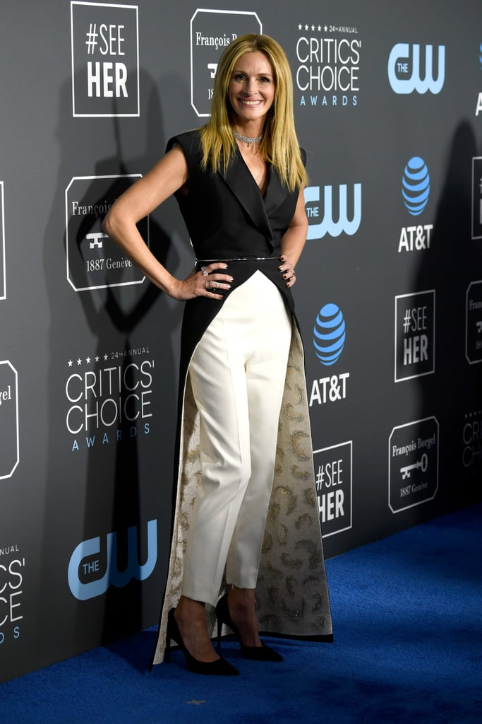 Julia Roberts at the 2019 Critics' Choice Awards