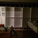 Step 5: Set Bookcases on Top of Cage
