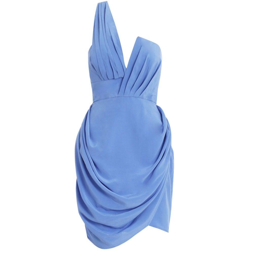 Zimmermann Blue Draped Dress