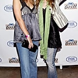 Ashley and Mary-Kate Olsen Both Wore the Jeans to an Event in 2003