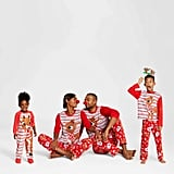 Rudolph Reindeer Holiday Family Pajamas