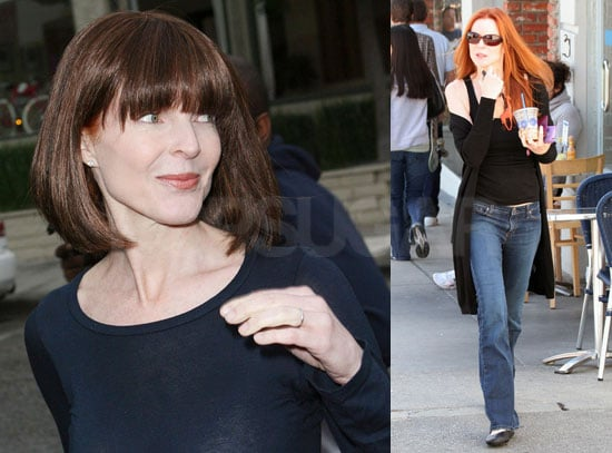 Marcia Cross Spotted Out in LA Wearing a Wig