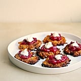 Sweet Potato Latkes With Horseradish Cranberry Sauce