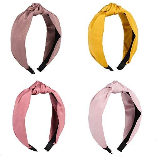 NICKIO Silk Knot Headbands