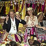 Kate and William in Tuvalu During Their Diamond Jubilee Tour in 2012