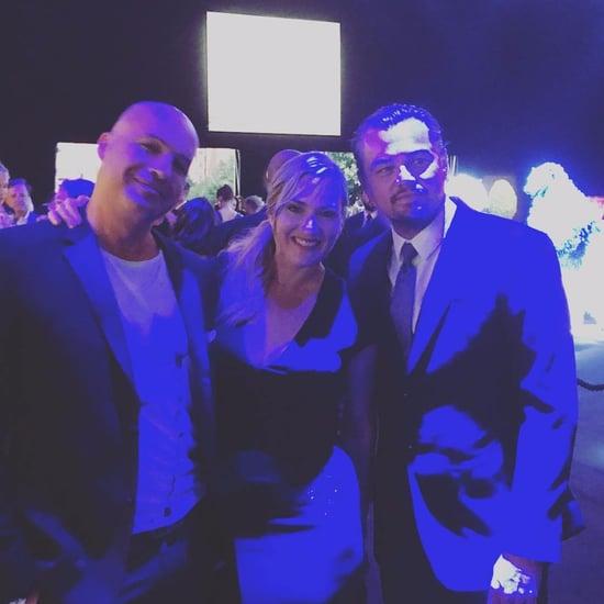 Leonardo DiCaprio With Kate Winslet and Billy Zane July 2017