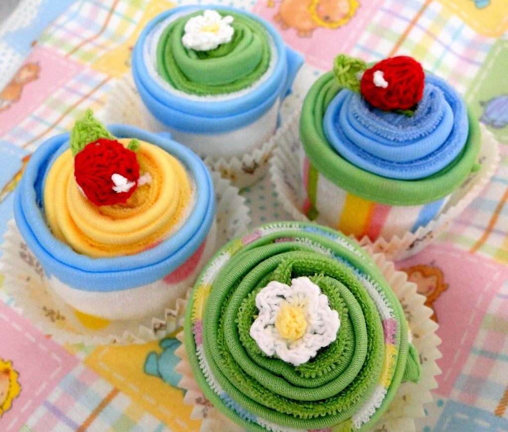 Wash Cloth Cupcakes ($4)
