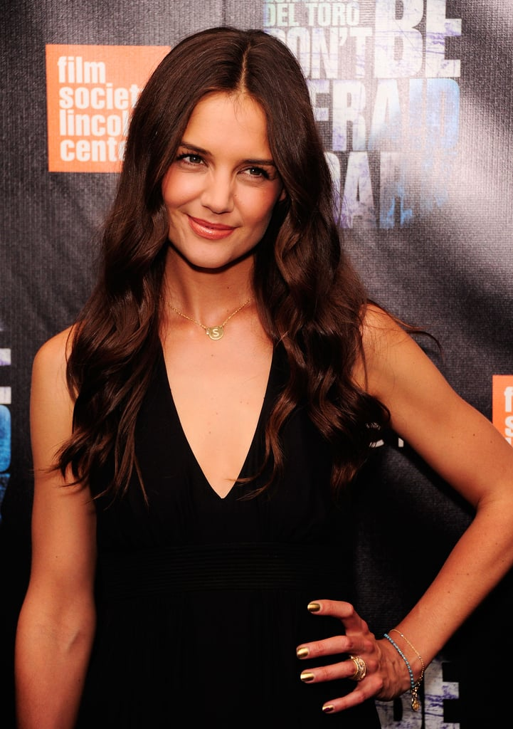 Katie Holmes at the premiere of Don't Be Afraid of the Dark in NYC.