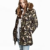 This H&M Padded Parka ($80) is pretty much the Winter version of the ubiquitous It girl army jacket.