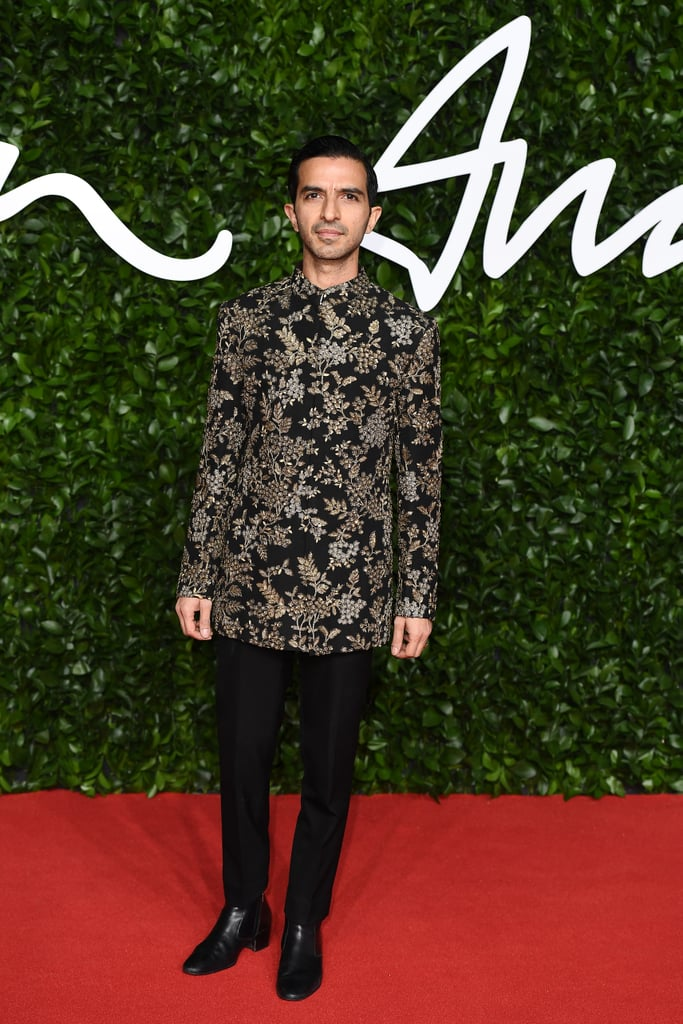 Imran Ahmed at the British Fashion Awards 2019