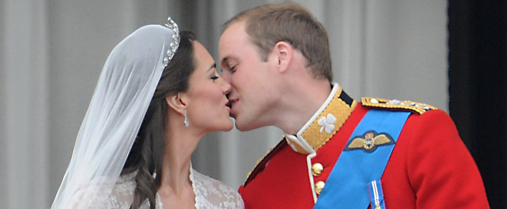 Royal Wedding Kiss Pictures