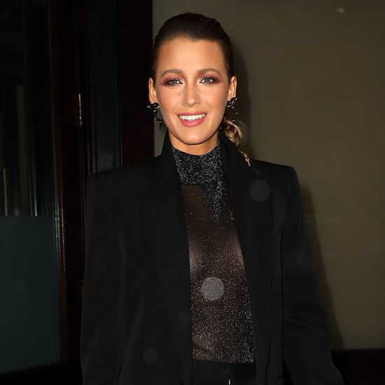 Blake Lively's Manicure at A Simple Favour Premiere