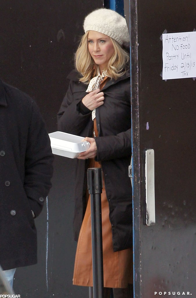 Jennifer Aniston shot a film in Greenwich, CT — and also celebrated her 44th birthday this week!