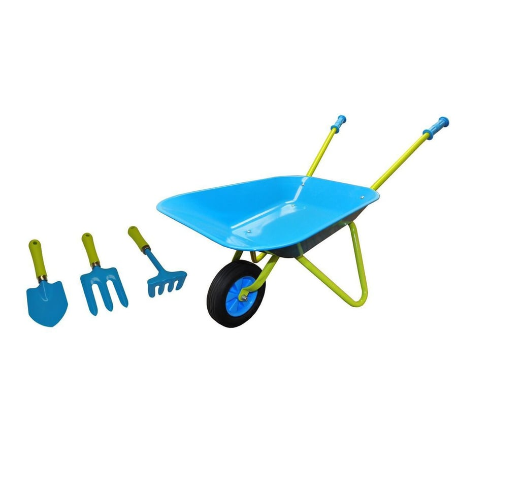. Just For Kids Wheelbarrow and Garden Tool Set   Gardening Tools For