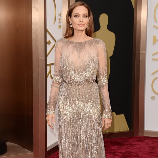 Angelina Jolie Elie Saab Dress at Oscars 2014