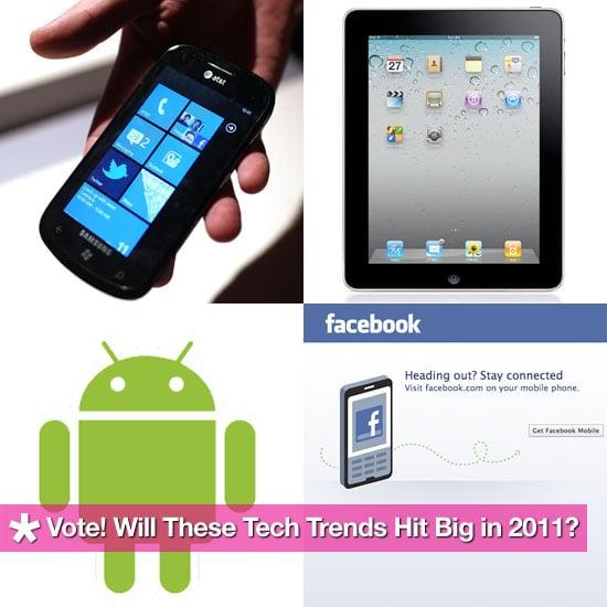 Tech Trends of 2011 Poll