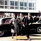 John F. Kennedy and Jackie Kennedy Onassis