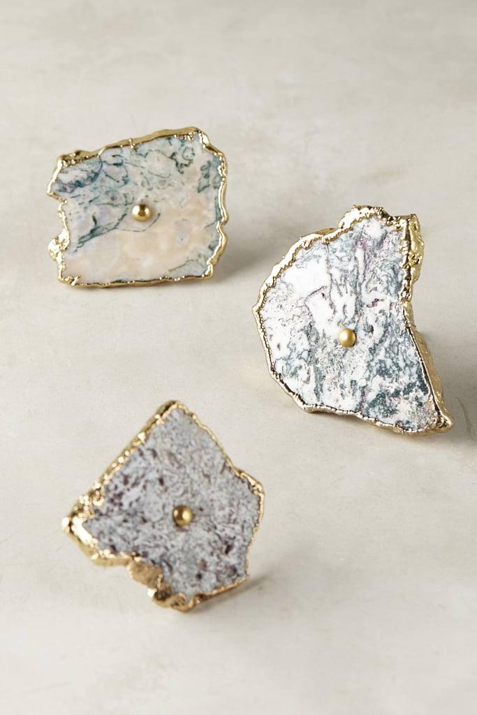 Anthropologie Swirled Geode Knob ($24)