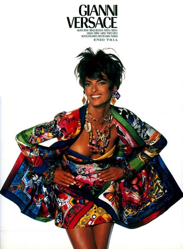 Linda Evangelista, Versace, Fall 1990