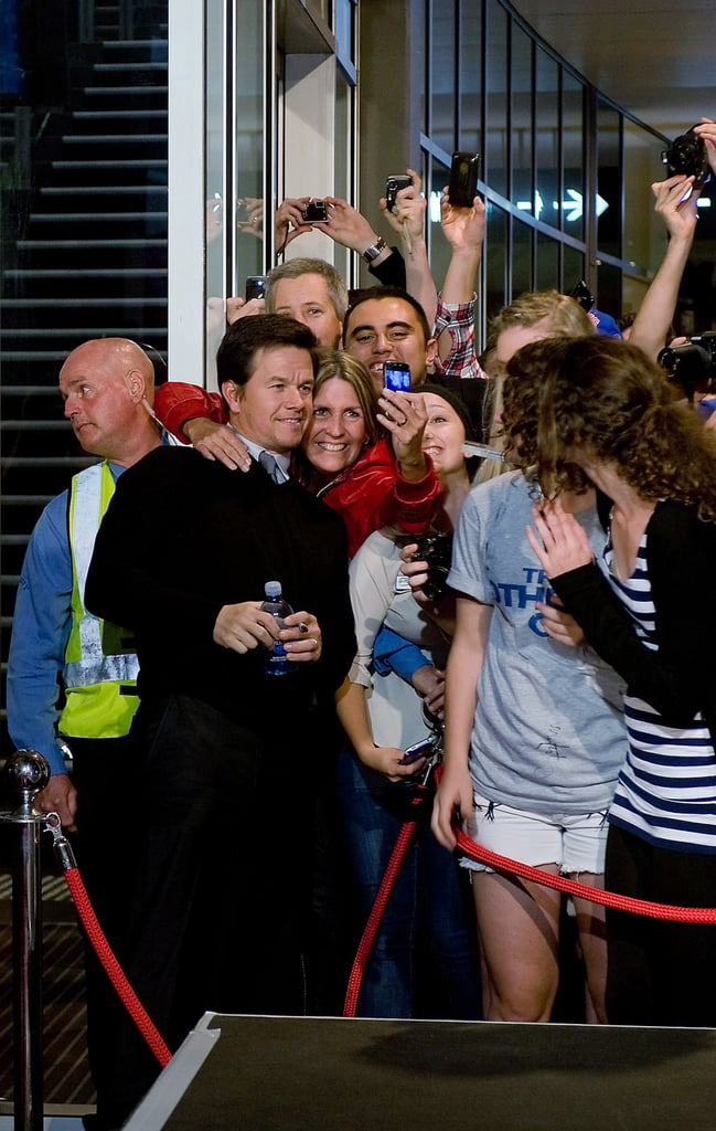 Mark Wahlberg and Will Ferrell at The Other Guys Australian Premiere